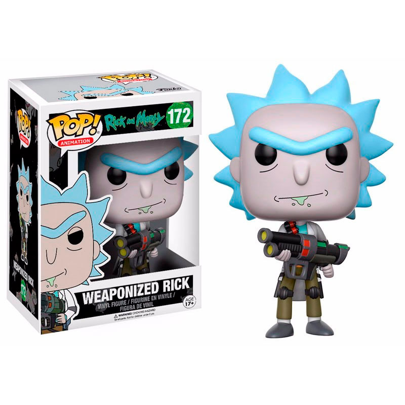 Pop Weaponized Rick 172