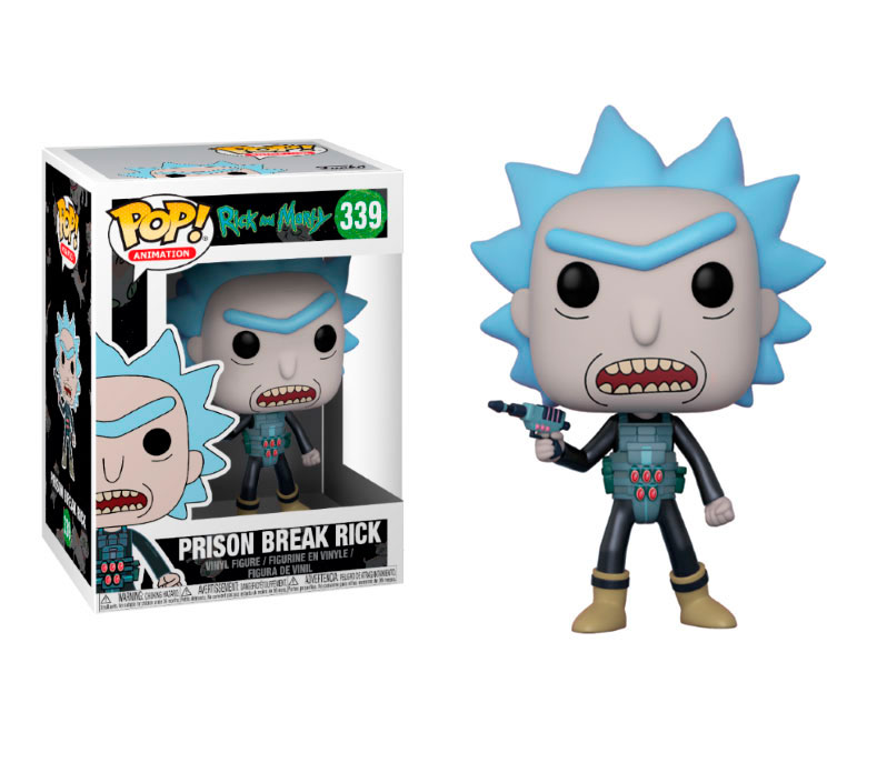 Pop Prison Break Rick 339