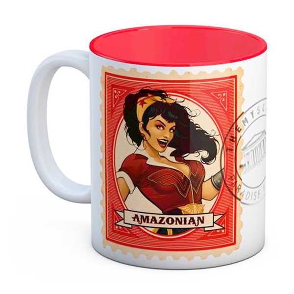 Taza Wonder Woman Amazona