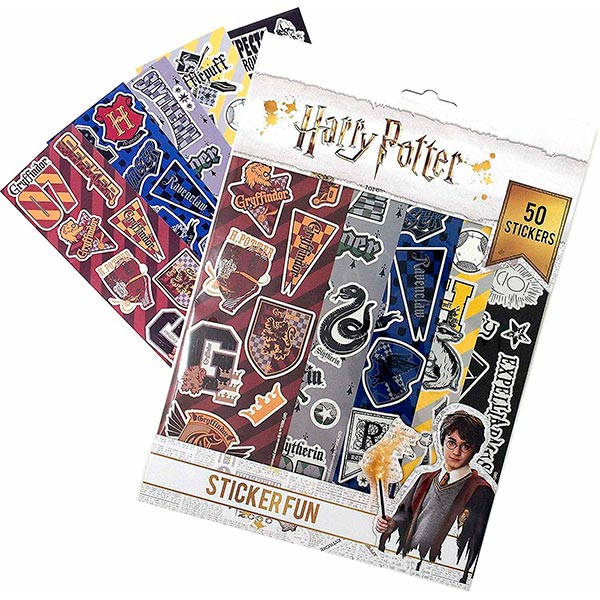 Pack 50 Pegatinas Harry Potter