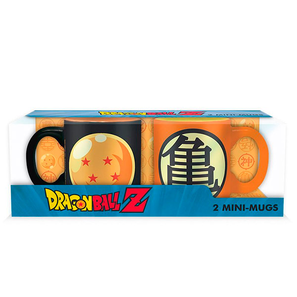 Set DragonBall Espresso Mugs
