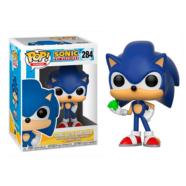 Pop Sonic with Emerald 284