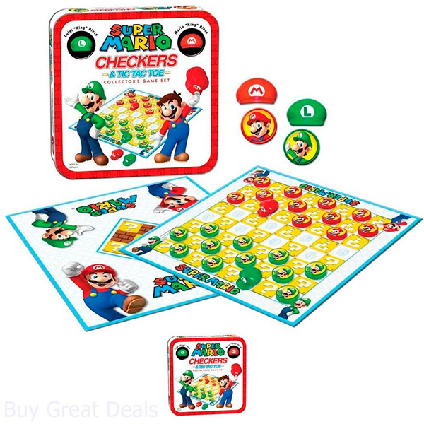 Damas Super Mario Collectors Game