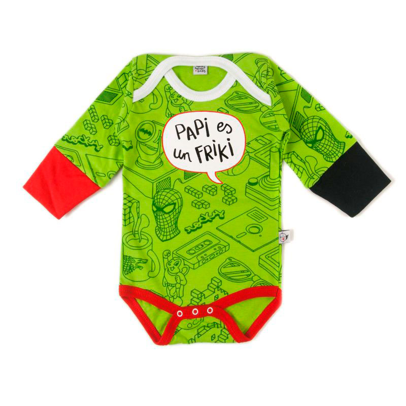 Body Papi Friki 3-6m