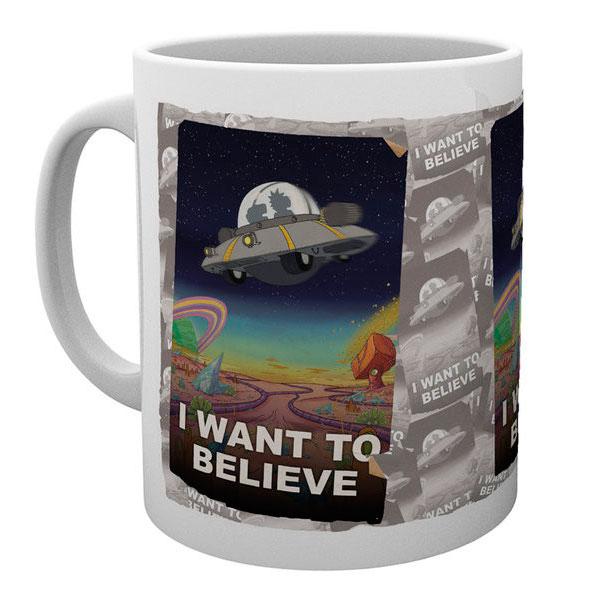 Taza I want to Believe