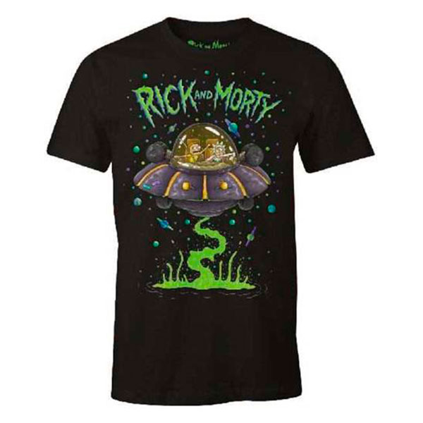 Camiseta Chico Rick y Morty