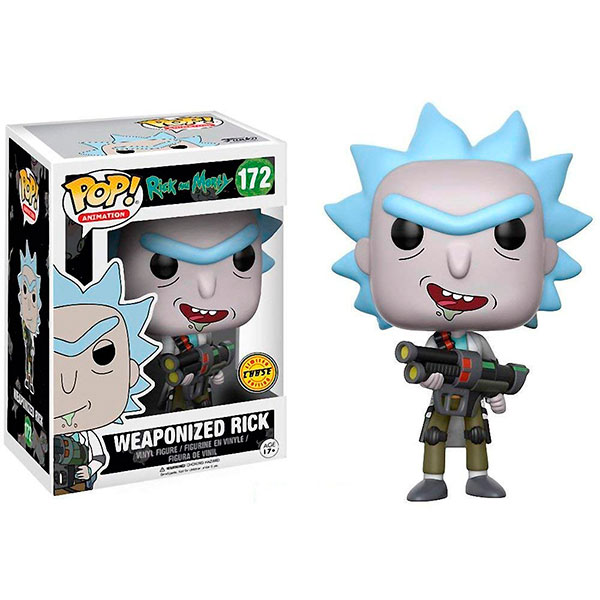 Pop Weaponized Rick 172 Chase