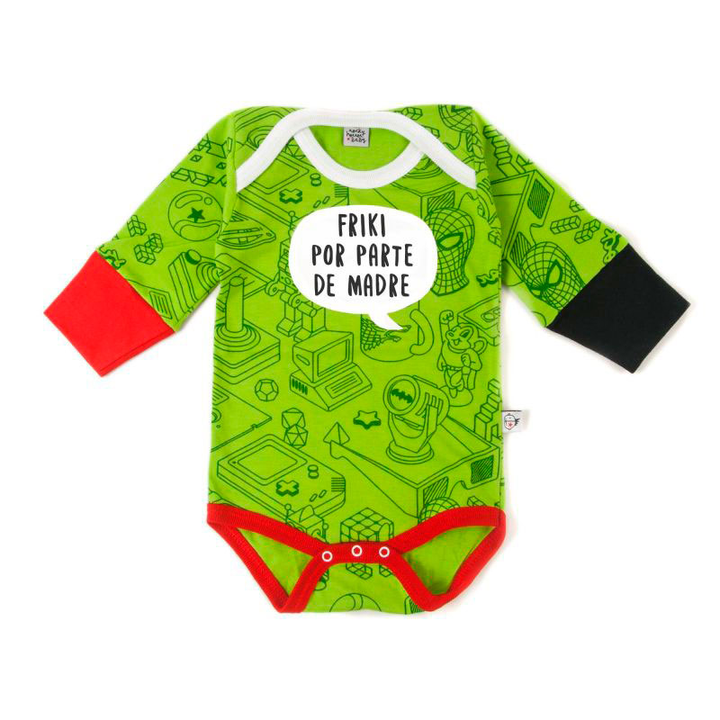 Body Madre Friki 3-6m
