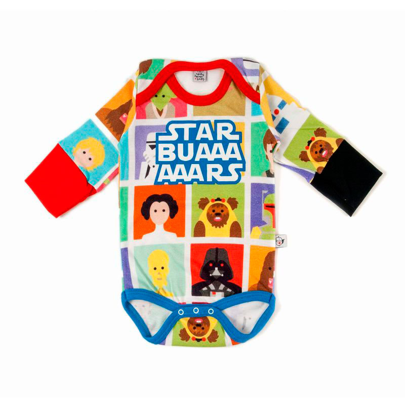 Body Star Buars 6-12m