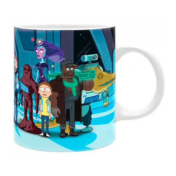 Taza Rick y Morty Vindicadores