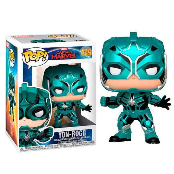 Pop Capitana Marvel Yon-Rogg 429 (Star Commander)