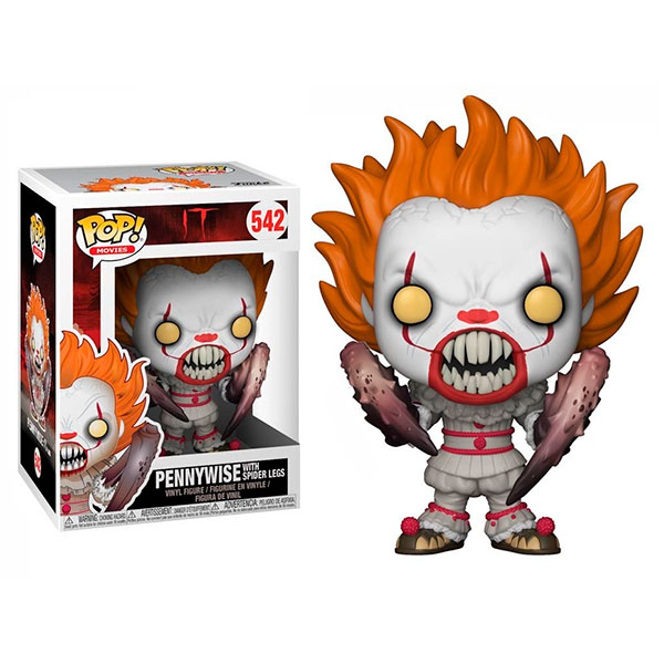 Pop It Pennywise With Spider Legs 542
