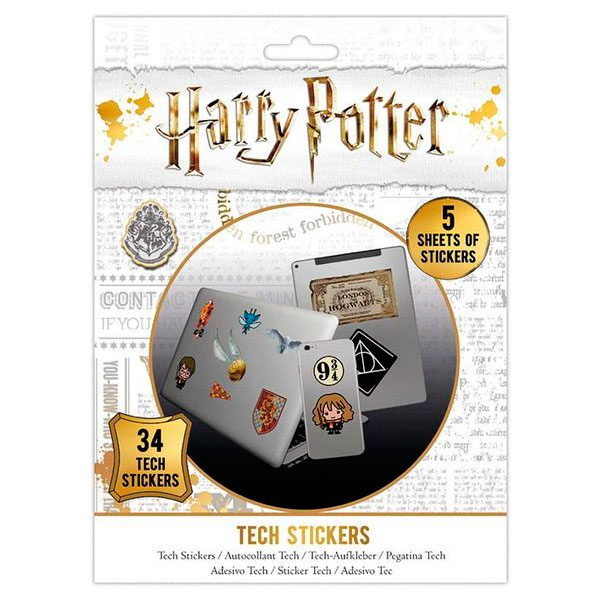 Pegatinas Harry Potter Tech Stickers
