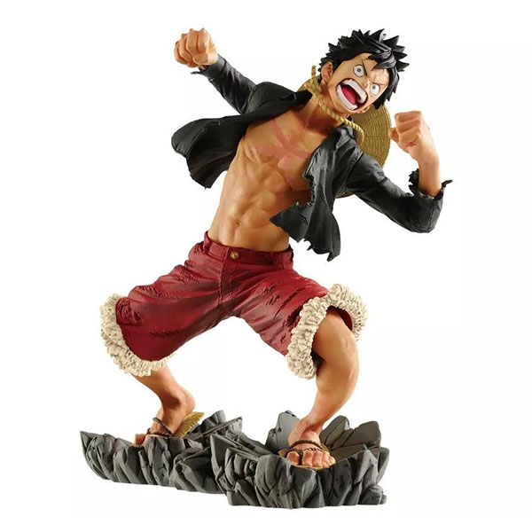 Figura One Piece Luffy 20th Memorial Log