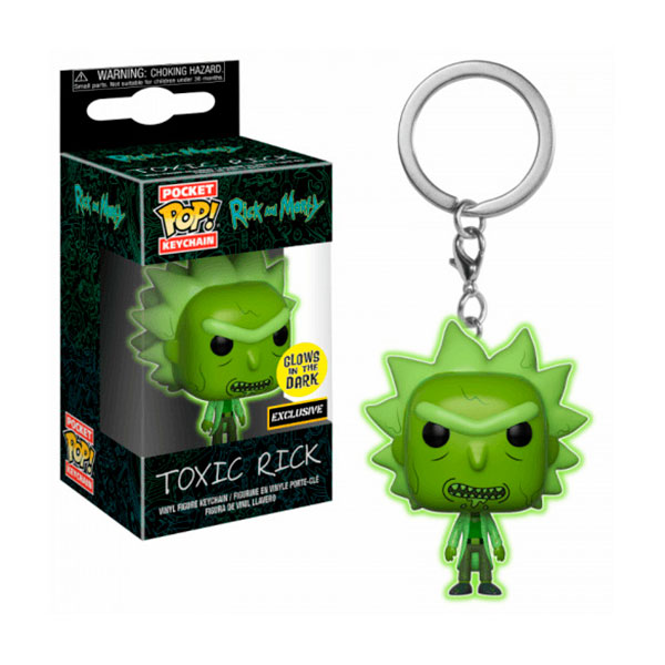 Pocket Pop Toxic Rick Exclusivo