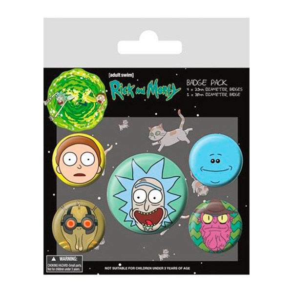 Chapas Rick y Morty