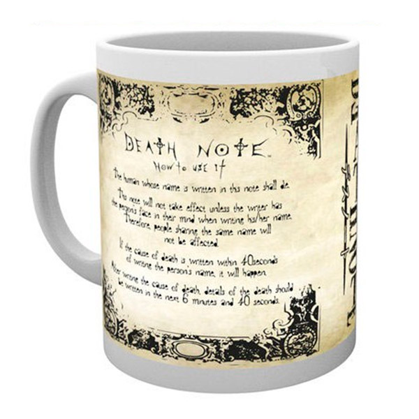 Taza Death Note Reglas