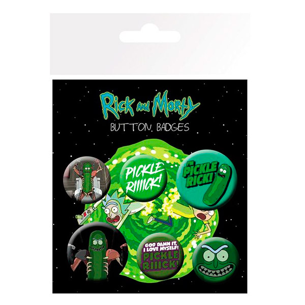 Chapas Pickle Rick