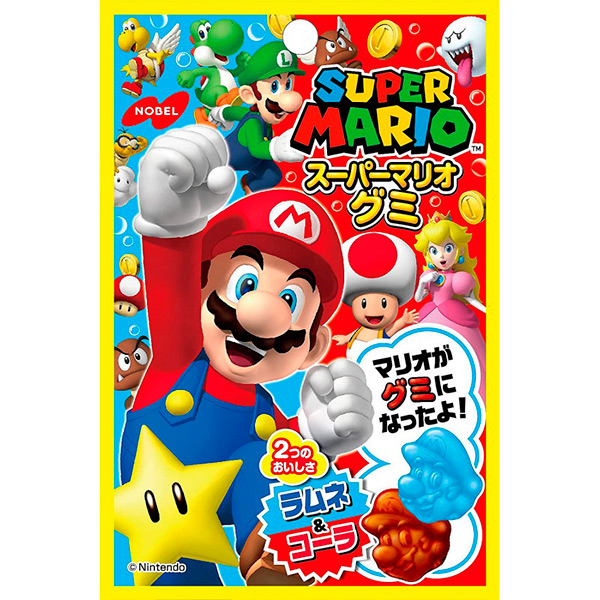 Gominolas SuperMario Cola/Ramune