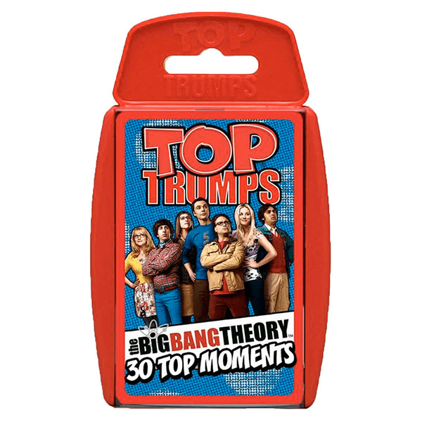 Top Trumps Big Bang Theory - Castellano