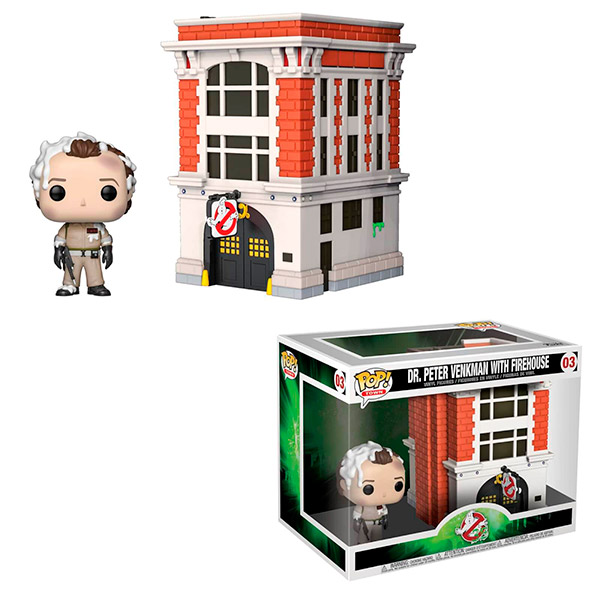 Pop Dr.Peter Venkman with Firehouse 03