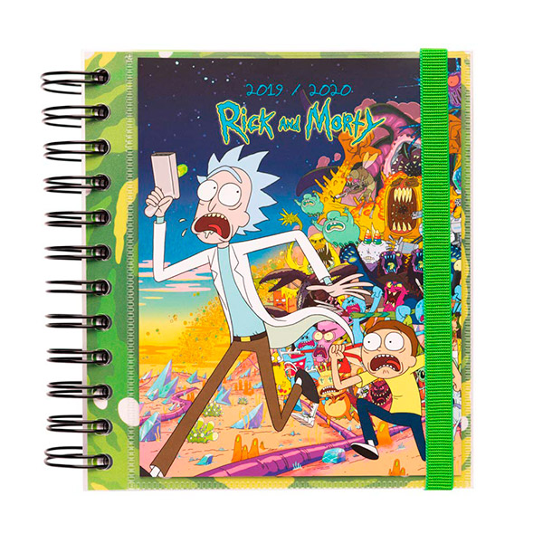 Agenda Escolar 2019/2020 Rick y Morty