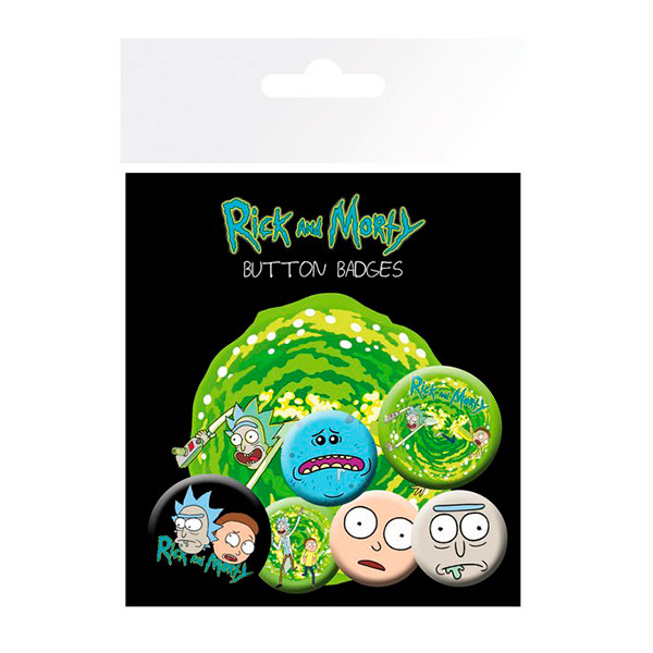 Chapas Rick y Morty Faces