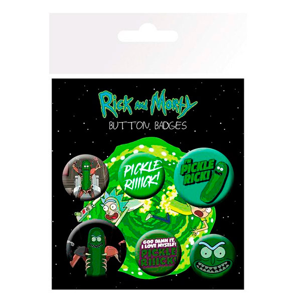 Chapas Rick y Morty Pickle Rick