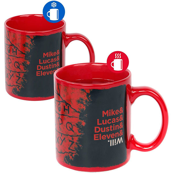 Taza Térmica Stranger Things Luces