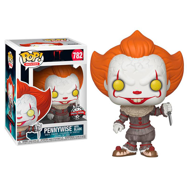 Pop It Pennywise With Blade 782 Exclusivo