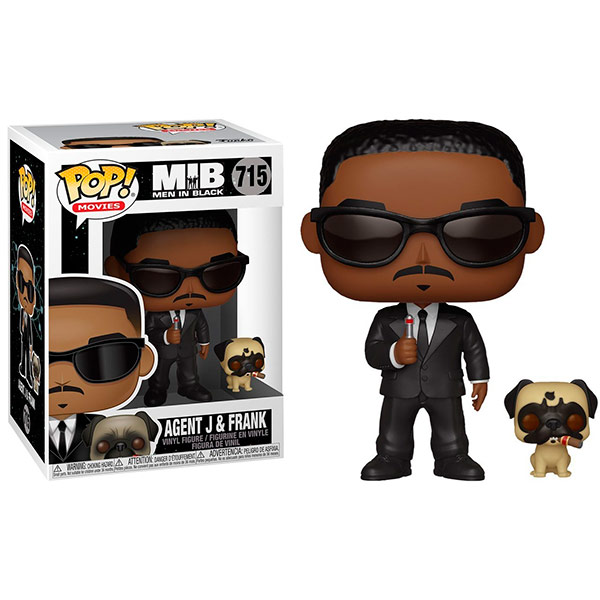 Pop MIB Agent J and Frank 715