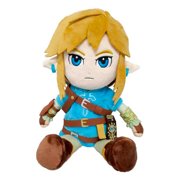 Peluche Link Breath of the Wild 21cm