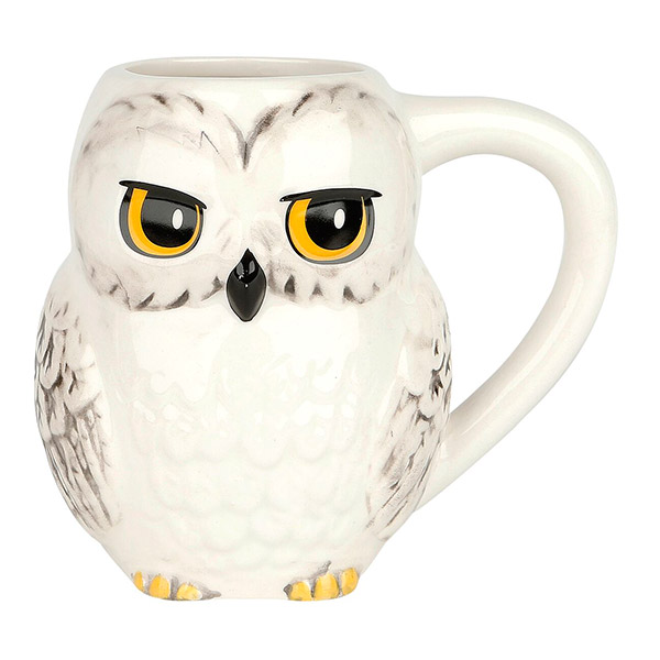Taza Harry Potter Hedwig 3D