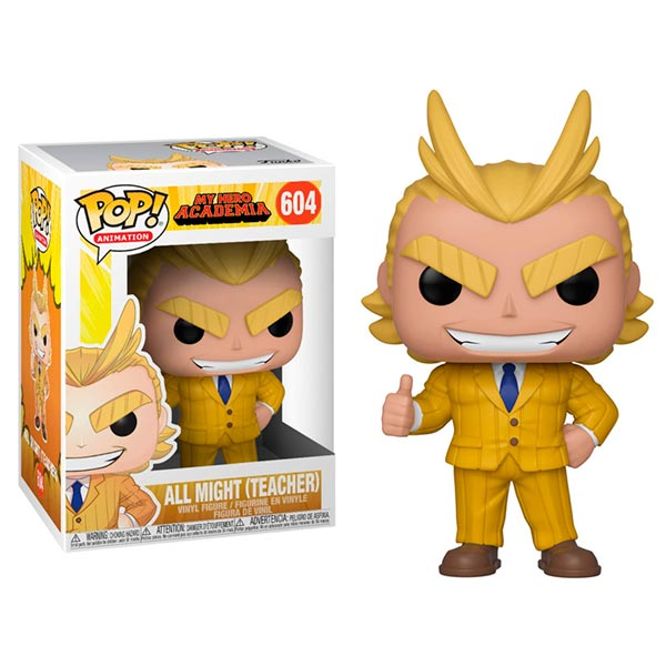 Pop All Might Teacher 604