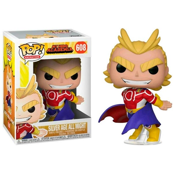 Pop All Might Silver Age 608