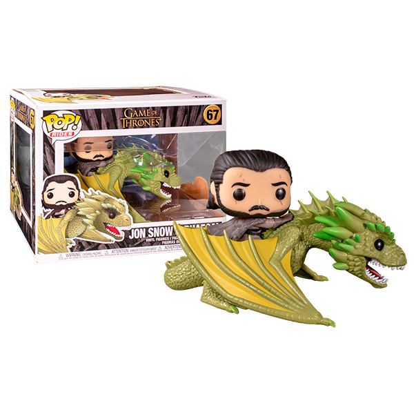 Pop Jon Snow with Rhaegal