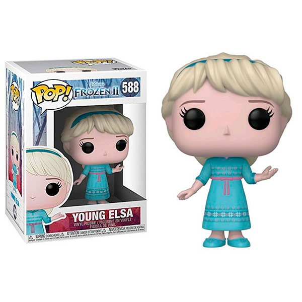 Pop Frozen II Young Elsa 588