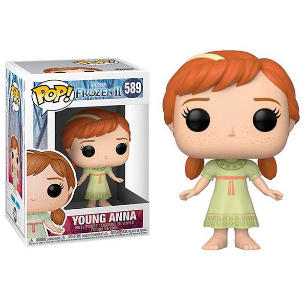 Pop Frozen II Young Anna 589