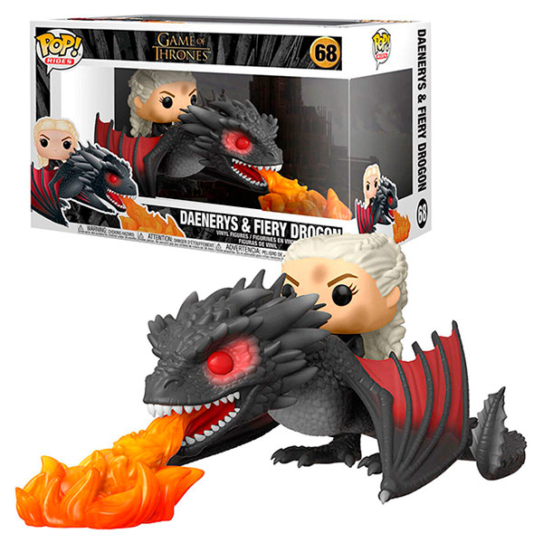 Pop Daenerys on Fiery Dragon 68