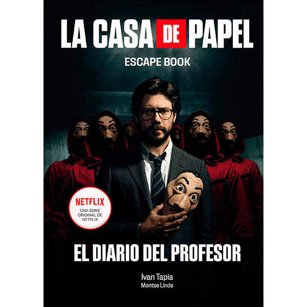Libro La Casa de Papel Escape Book