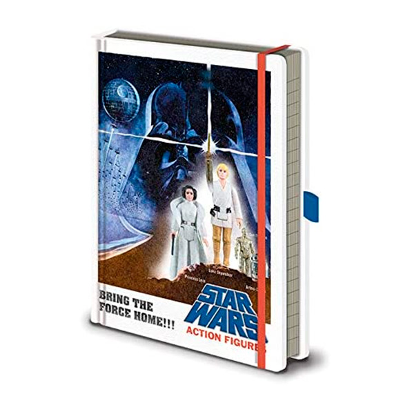 Libreta A5 Premium Star Wars Action Figures