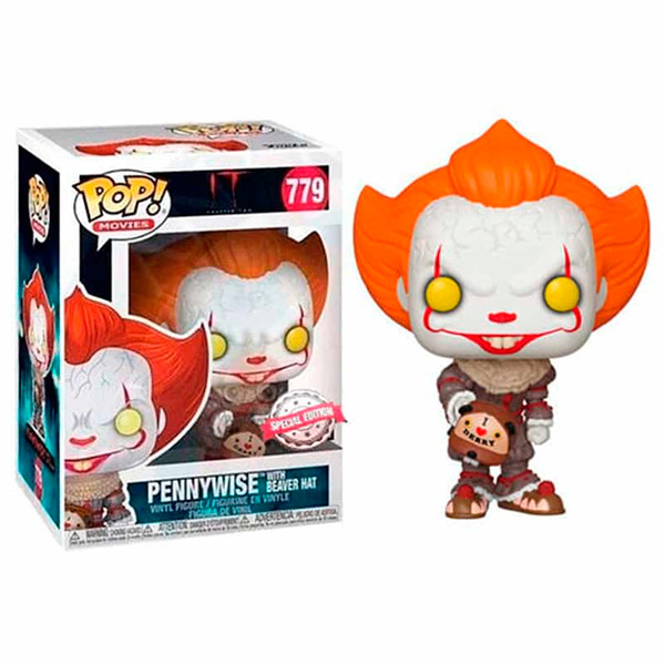 Pop Pennywise with Beaver Hat 779 Exclusivo