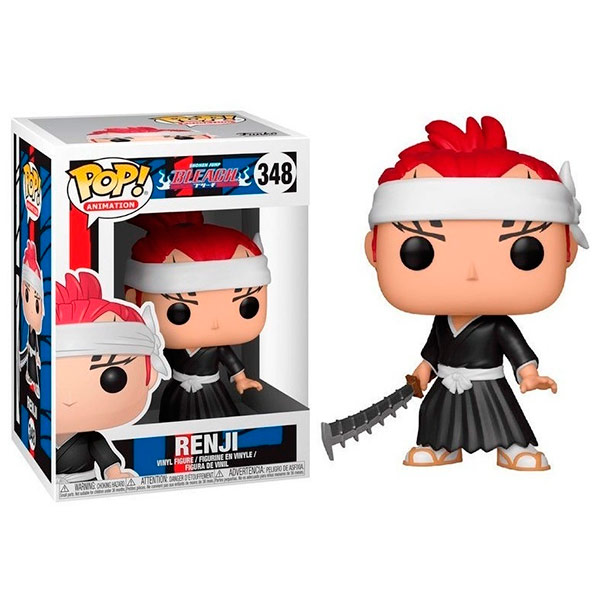 Pop Bleach Renji 348