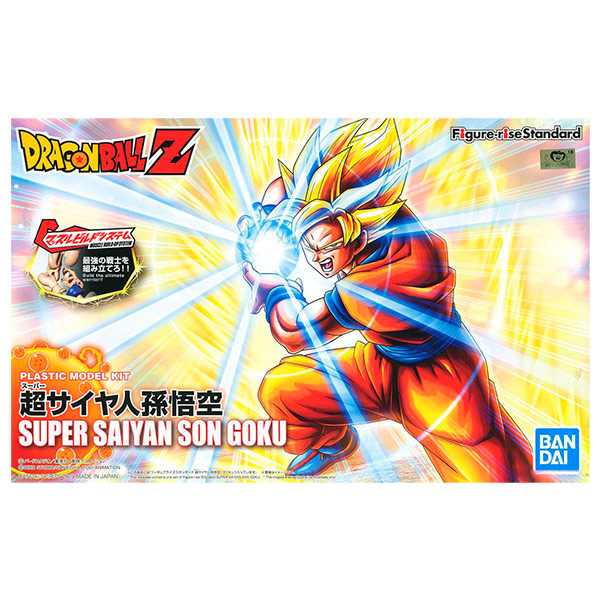 Figura Goku Model Kit 16cm