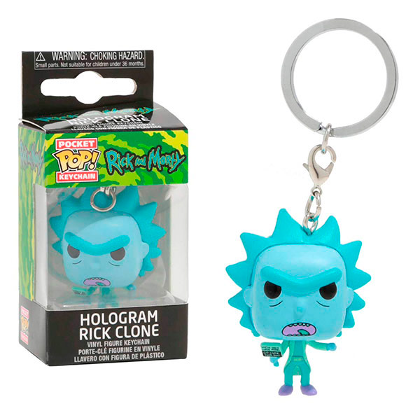 Pocket Pop Hologram Rick Clone