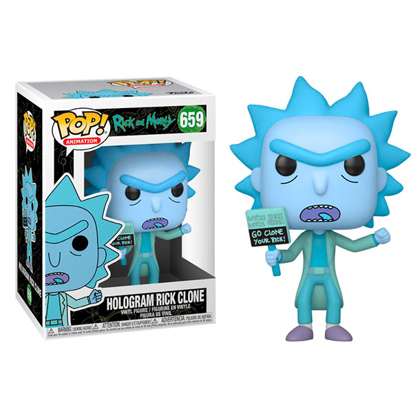 Pop Hologram Rick Clone 659
