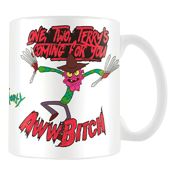 Taza Rick y Morty Scary Terry