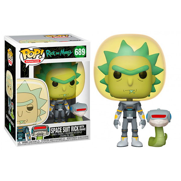 Pop Space Suit Rick with Snake 689