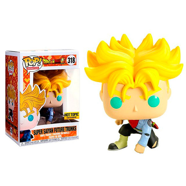 Pop Super Saiyan Future Trunks 318 Hot Topic