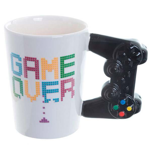 Taza 3D Mando Game Over